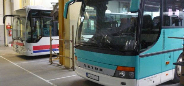 Unfallinstandsetzung bei Bussen